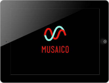 Musaico iPad Music App Home Screen